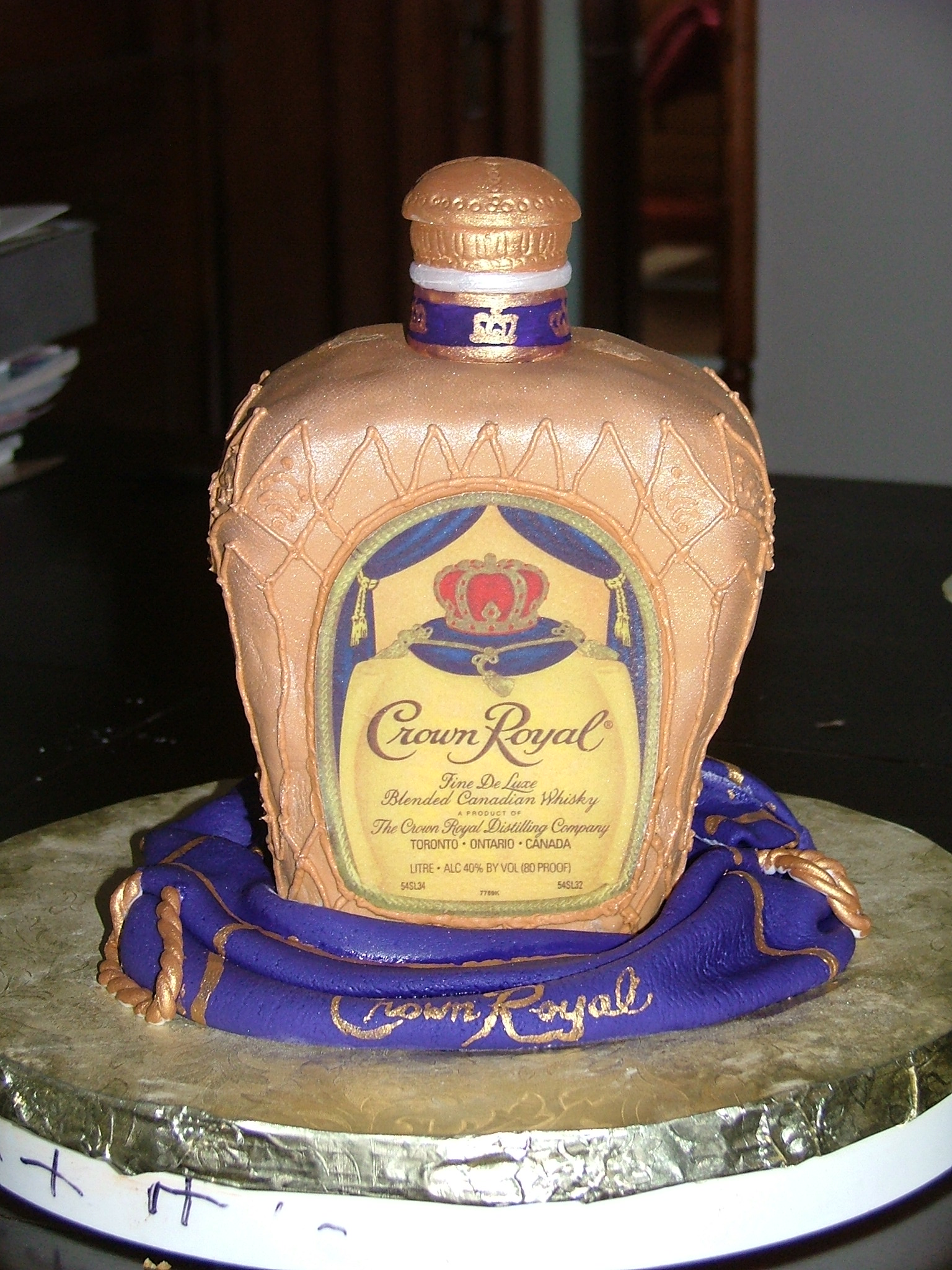 Cake With Crown Royal : Print Photos View Full-Size Image